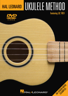 Hal LeonardUKULELE METHOD DVD SHEET MUSIC BOOK