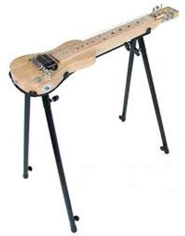 XTREME   Lap Steel Guitar Stand (Stand only, Guitar not included)   Black