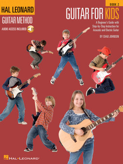 Hal LeonardGUITAR FOR KIDS METHOD BK 2 BK/OLA MUSIC BOOK