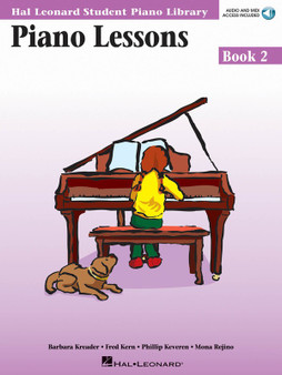 HLSPL PIANO LESSONS BK 2 BK/CD MUSIC BOOK