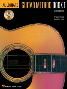 Hal LeonardGUITAR METHOD BK 1 BK/CD MUSIC BOOK