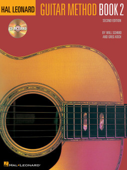Hal LeonardGUITAR METHOD BK 2 BK/CD MUSIC BOOK