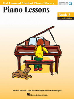 HLSPL PIANO LESSONS BK 3 BK/CD MUSIC BOOK
