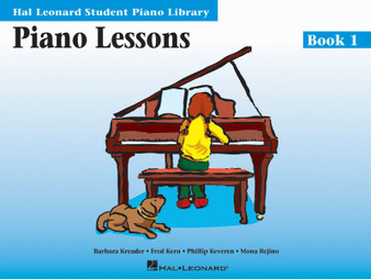 HLSPL PIANO LESSONS BK 1 MUSIC BOOK