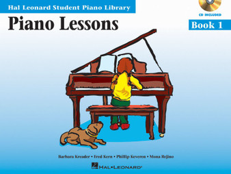HLSPL PIANO LESSONS BK 1 BK/CD MUSIC BOOK