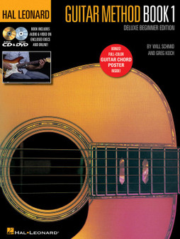 Hal LeonardGUITAR METHOD BK 1 DELUXE BEGINNER EDITION MUSIC BOOK