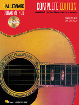 Hal LeonardGUITAR METHOD COMPOSITE BK/3CD MUSIC BOOK