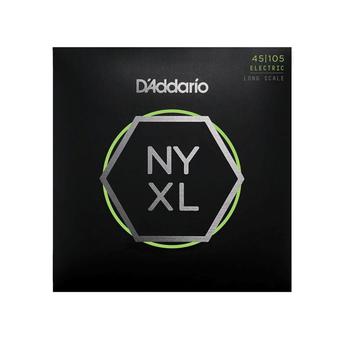 D 'ADDARIO   NYXL   NICKEL WOUND BASS STRINGS Regular Light Top   Medium Bottom.