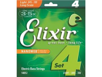 Elixir Bass Nano 4 String Light 45 100