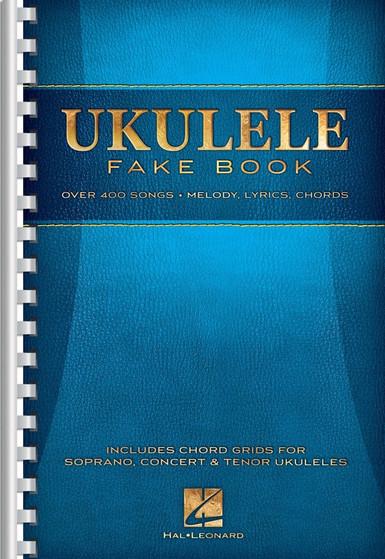 UKULELE FAKE BOOK 6X9 SPIRAL SHEET MUSIC BOOK