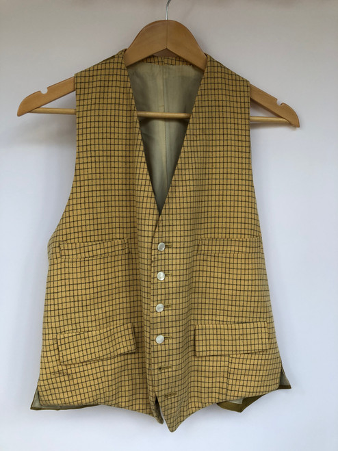 """Simpsons of Piccadilly tattesall waistcoat, 40"""" (VTR924)"""