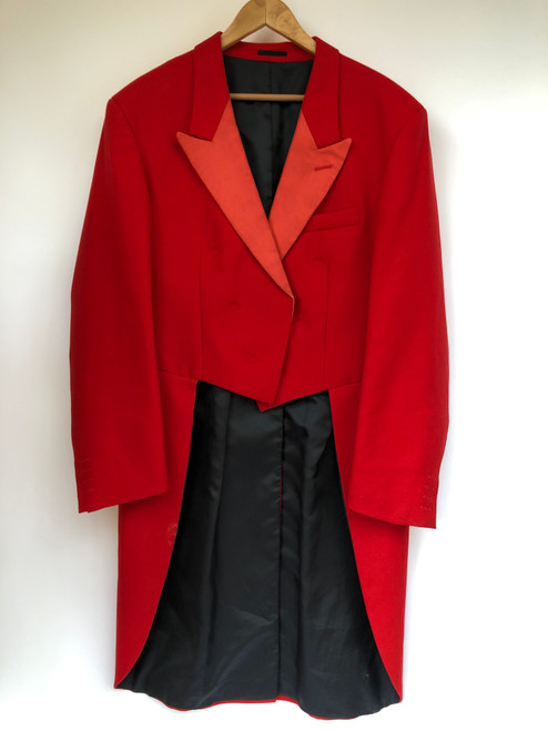 Secondhand hunting evening tailcoat 44""