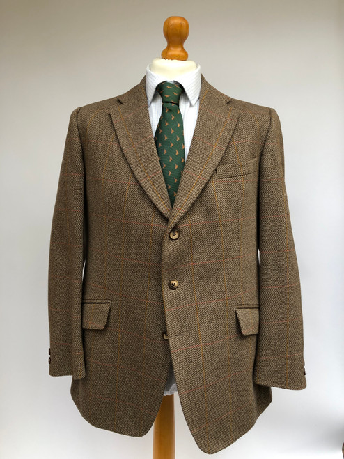 "Men's 42"" hacking coat by Bladen."