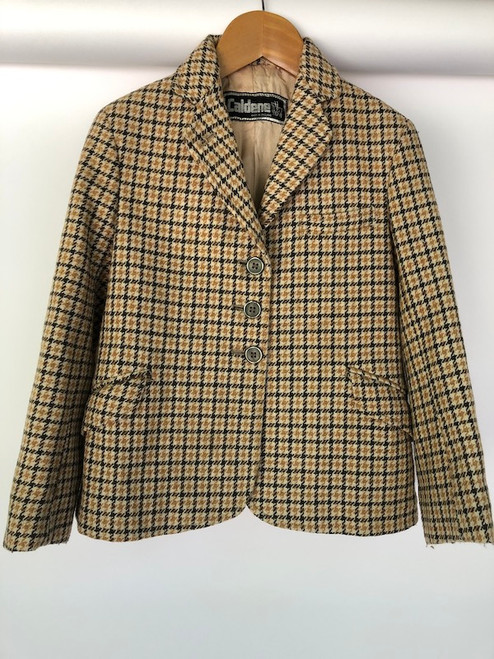 Glorious little vintage children's tweed, c. 26""