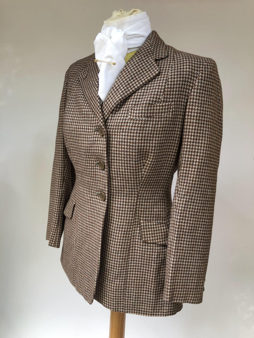 "Gorgeous vintage 'Bedford Riding' tweed coat, 36"" (VTR1157)"