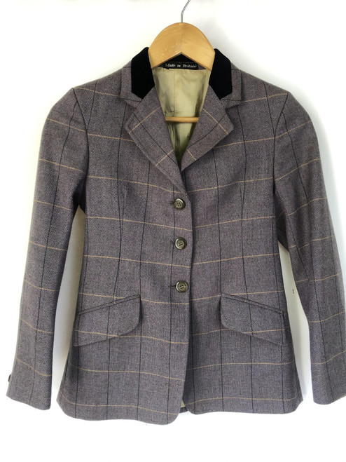 "Children's second-hand Caldene tweed in heather, 30"" (VTR1104)"