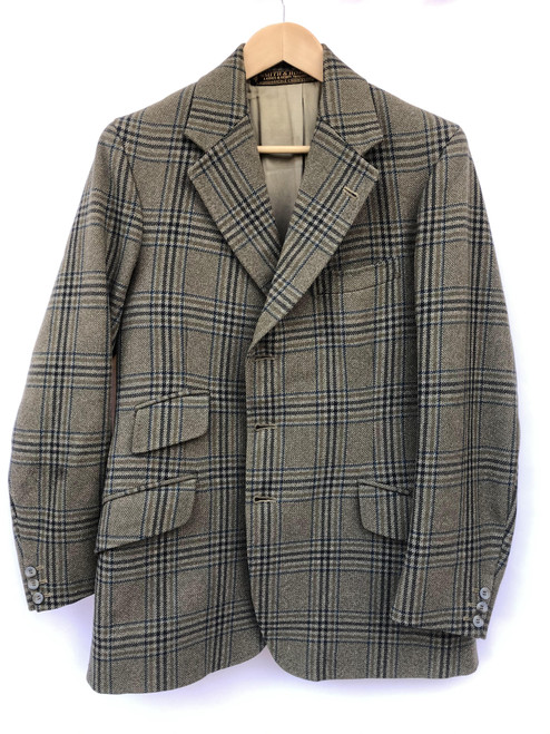 "Superb boys' / men's vintage tweed hacking coat, 36-38"" (VTR1177)"