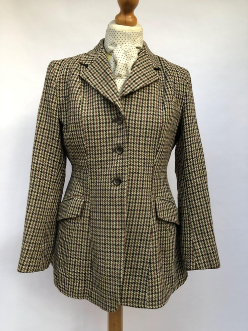 "Vintage Caldene tweed hacking coat, 36"" (VTR1247)"