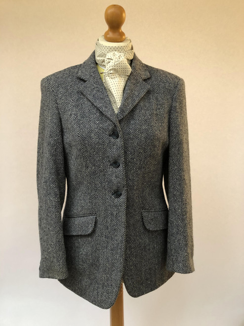 Ladies' navy tweed by Mears, 36""