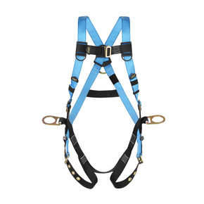 Full Body Harness 5 Point Adjustment with 3 D Rings-Each