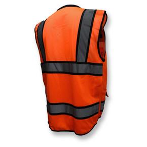 SV65-2ZOM Type R Class 2 Heavy Duty Surveyor Safety Vest