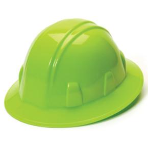 HP24131-Hi-Viz Green SL Series Full Brim Hard Hat by Pyramex Safety