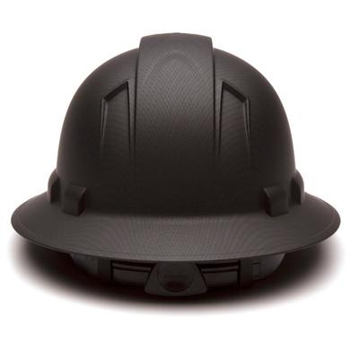 HP54117 Ridgeline Full Brim Hard Hat - 4-Point Ratchet Suspension
