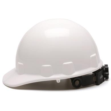 Pyramex Cap Style Hard Hat - SL Series Sleek 4 Pt Ratchet  White