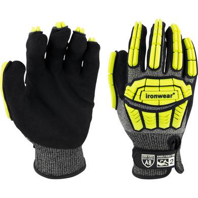 Ironwear Safety, Cut Resistant ANSI/ISEA 105-206 A8, Evolution CG-3 Glove