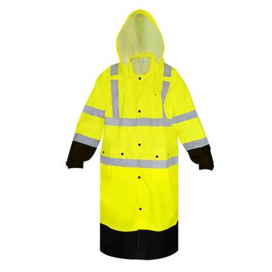 Ironwear Safety, 9511L-Premium Class 3 Coat with Tuckaway Hood