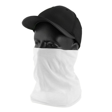 Ironwear Safety, White Neck Protector, 100% Polyester