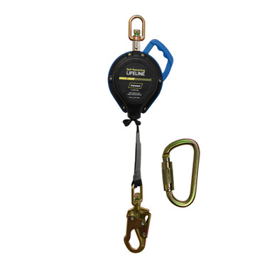 Ironwear Safety, 11ft Webbing SRL with a Steel Snap Hook