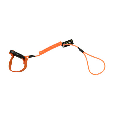 Hard Hat Lanyard with a Capacity of 2 lbs, Made from PVC and Polyester – Each
