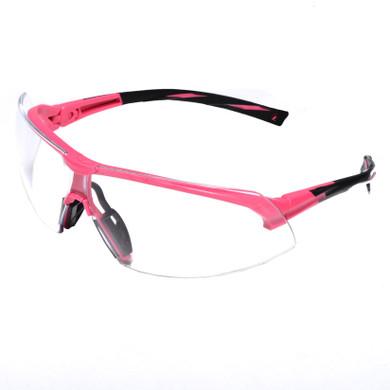 SP4910S Onix Black/Pink Frame Safety Glasses