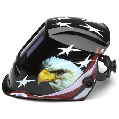 WHAM3030AE Auto Darkening Welding Helmet - American Eagle