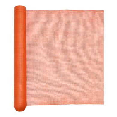 Orange Debri Netting, UV and Flame Retardant, 18.6 Lbs/Roll