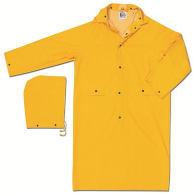 "MCR Safety 200C Classic Series 49"" Raincoat - Yellow"