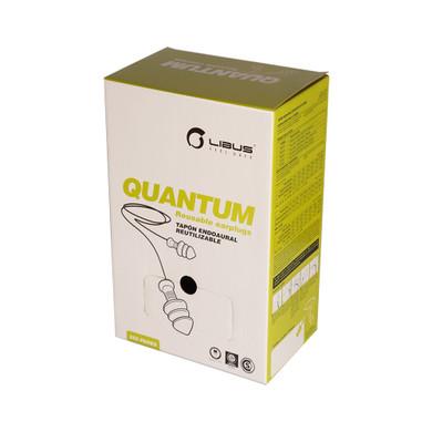 Libus USA, 900473 Quantum Reusable Earplug Dispenser-250/Box