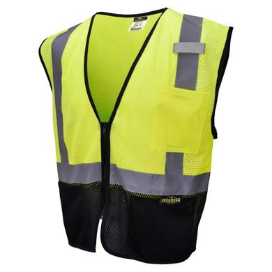 Radians SV3B Type R Class 2 Color-Blocked Economy Mesh Safety Vest