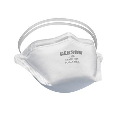 Gerson 3230 NIOSH Approved N95 Foldable Respirator