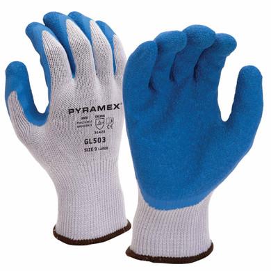 Pyramex GL503 Crinkle Latex Work Gloves