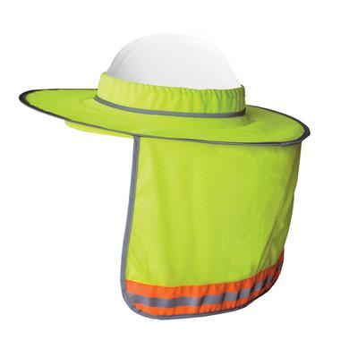 Ironwear 1270 High-Visibility Reflective Sun Shade for Full Brim Hard Hats
