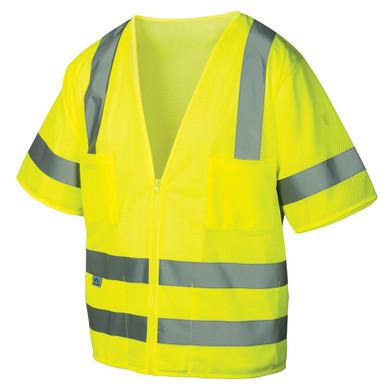 Pyramex RVZ31 Type R Class 3 Mesh Safety Vest