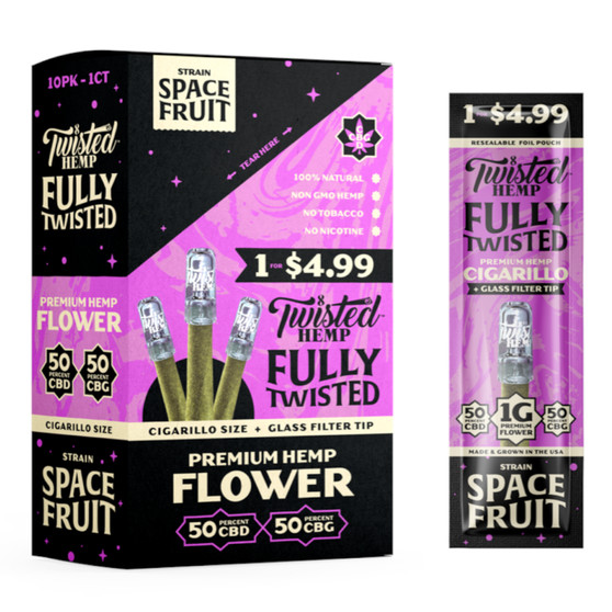 TWISTED HEMP FULLY TWISTED - SPACE FRUIT