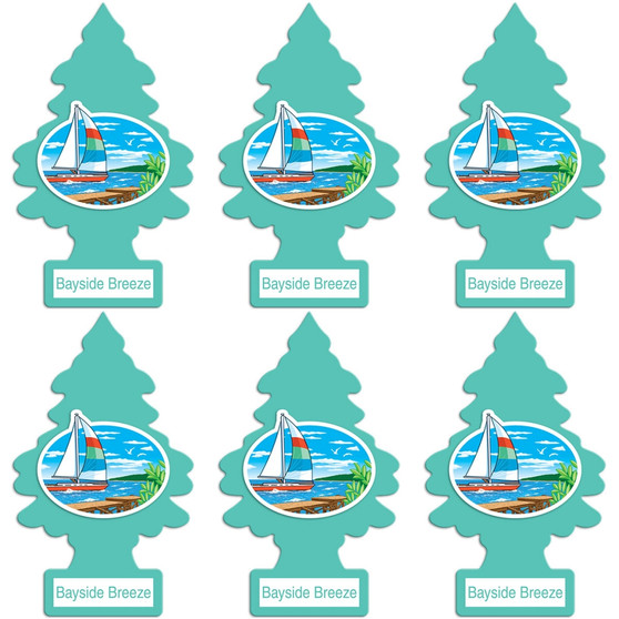 LITTLE TREES 1PK - BAYSIDE BREEZE