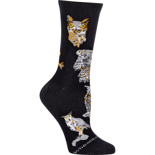 Great Horned Owl Socks