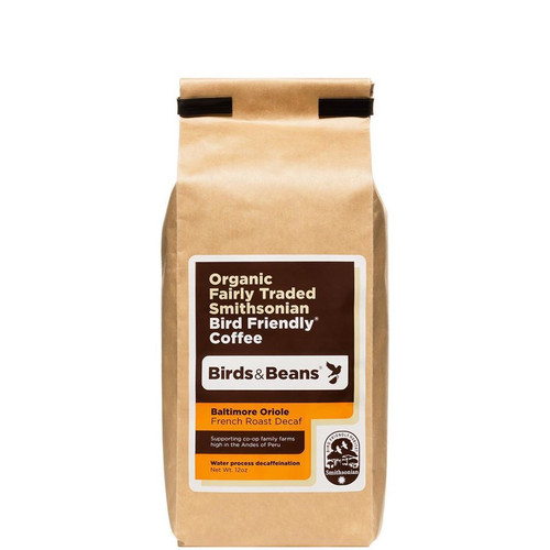 Baltimore Oriole Decaf, French Roast - Whole Bean