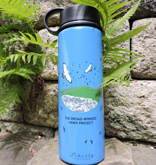 Broad-winged Hawk Water Bottle
