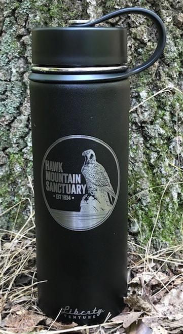 Woodcut Logo Water Bottle