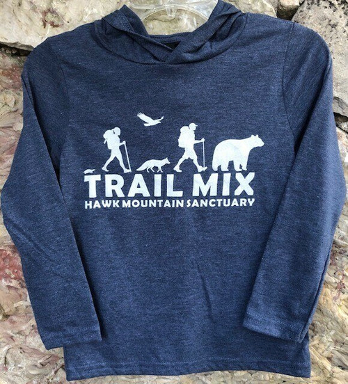 Trail Mix  Long-sleeve Hooded Tee